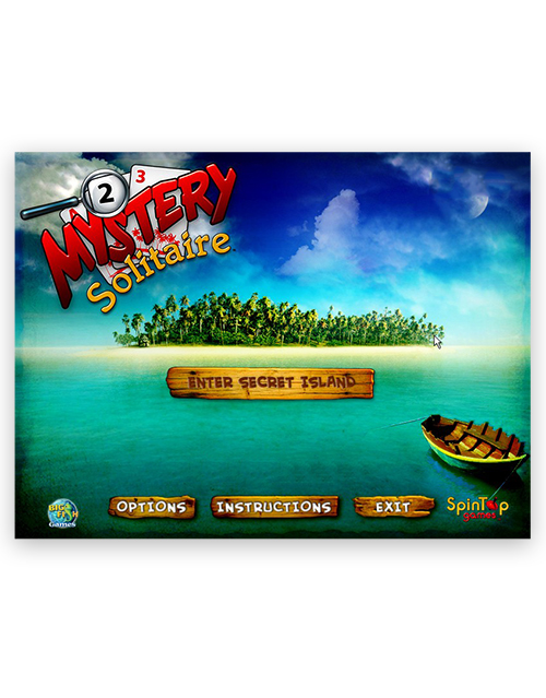 Mystery Solitaire - Secret Island (Big FIsh / Spin Top Games)